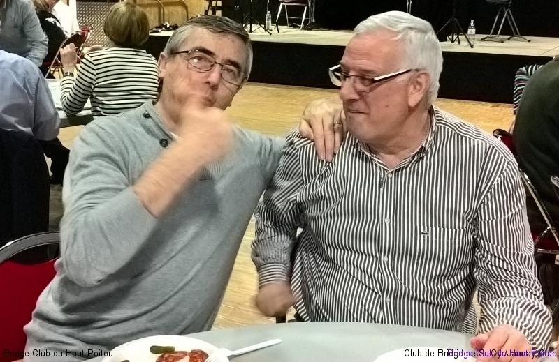 Les héros du jour : Régis et Guy